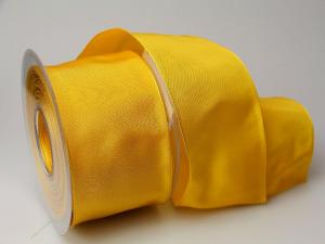 Uniband Gelb mit Draht 70mm