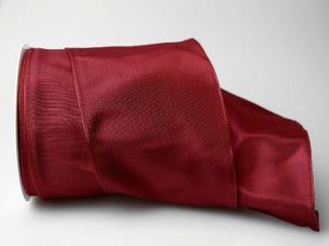 Uniband Karminrot mit Draht 100mm
