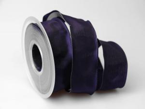 Uniband Lila mit Draht 40mm