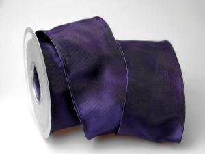 Uniband Lila mit Draht 70mm
