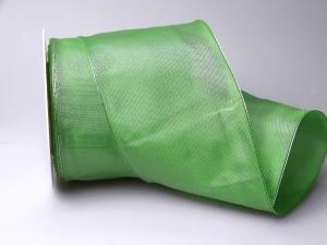 Uniband Mintgrün mit Draht 100mm