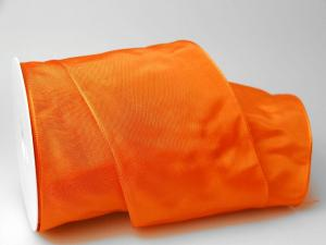 Uniband Orange mit Draht 100mm