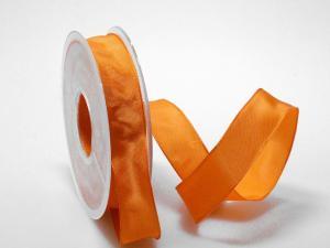 Uniband Orange mit Draht 25mm