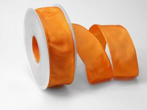 Uniband Orange mit Draht 40mm
