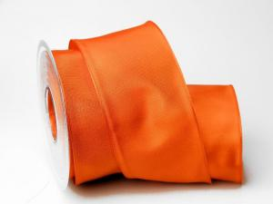 Uniband Orange mit Draht 70mm