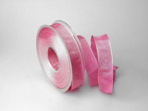 Uniband Pink mit Draht 25mm