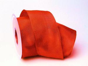 Uniband Rot mit Draht 70mm