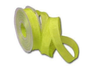 Uniband schilfgrün mit Draht 25mm