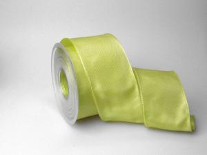 Uniband Schilfgrün mit Draht 70mm