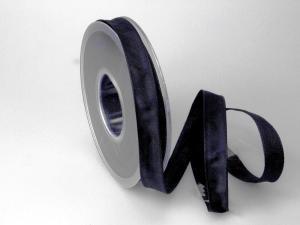 Uniband Schwarz mit Draht 15mm