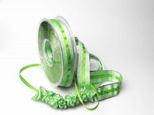 Ziehband Crash IT 25mm hellgrün ohne Draht