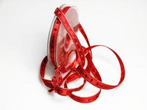 Ziehband Crash IT 15mm rot ohne Draht