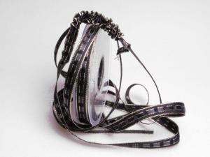 Ziehband Crash IT 15mm schwarz  ohne Draht