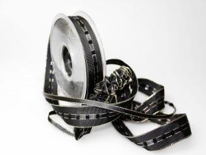 Ziehband Crash IT 25mm schwarz ohne Daht