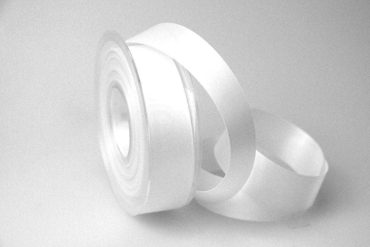 satinband wei ohne draht 25mm jetzt g nstig kaufen christa. Black Bedroom Furniture Sets. Home Design Ideas